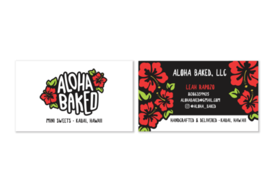 Aloha Baked Business Cards