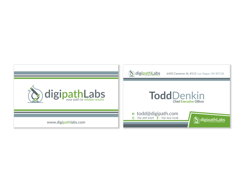 DigiPath Labs Business Card