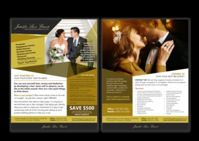 Jennifer Lane Wedding Flyer