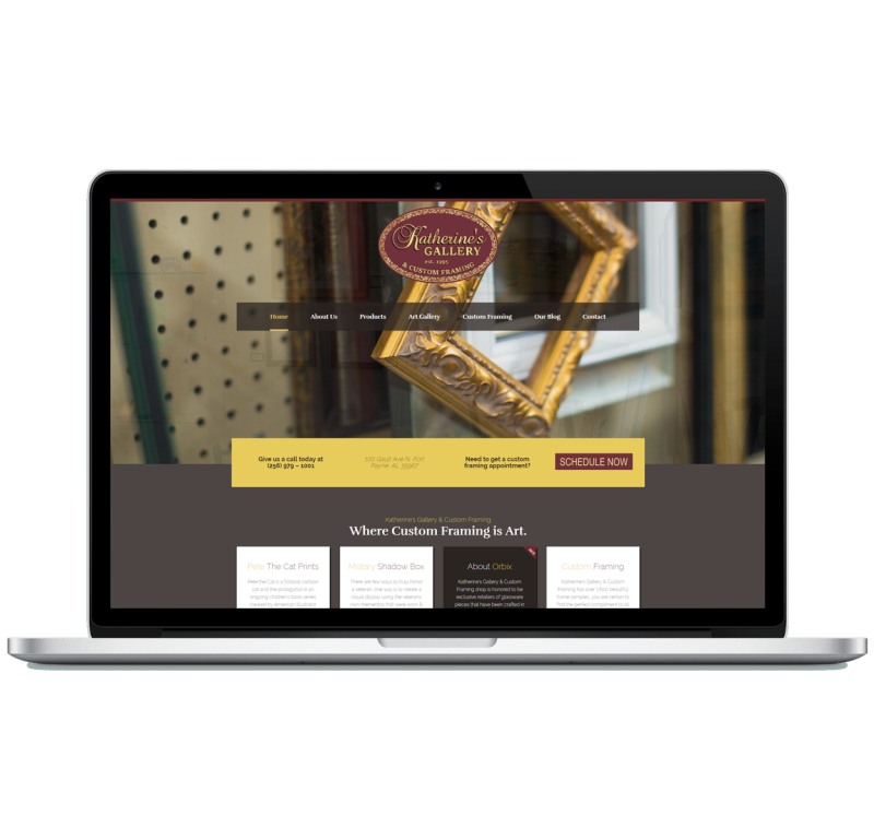 Katherine's Gallery Website
