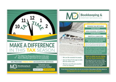 MD Bookkeeping Flyer