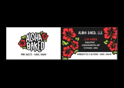 Aloha Baked Business Cards