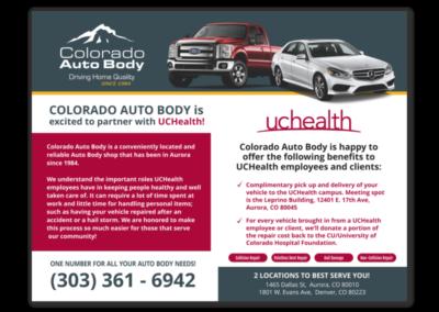 Colorado Auto Body Postcard