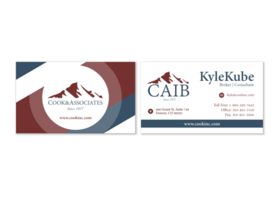 Cooks & Associates Business Cards