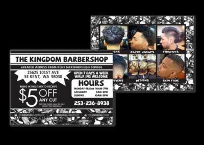 Kingdom Barbershop Postcard