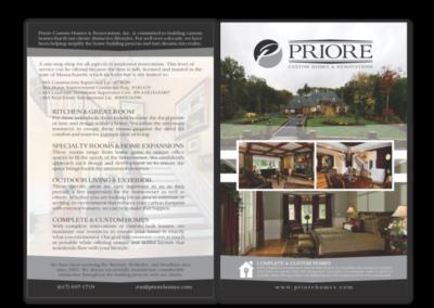 Priore Custom Homes Flyer