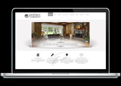 Priore Custom Homes Website