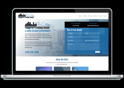 Tri-City Mobile Music Website