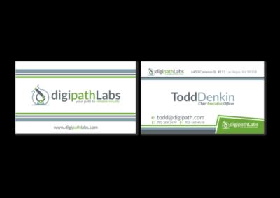 DigiPath Labs Business Card