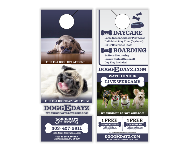 DoggEDayz Door Hanger