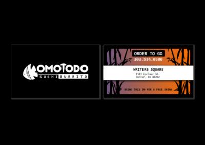 Komotodo Business Card
