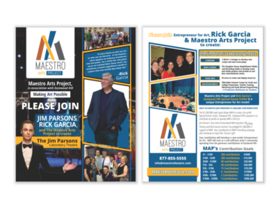 Maestro Arts Project Flyer