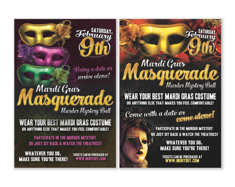 Masquerade Event Flyer