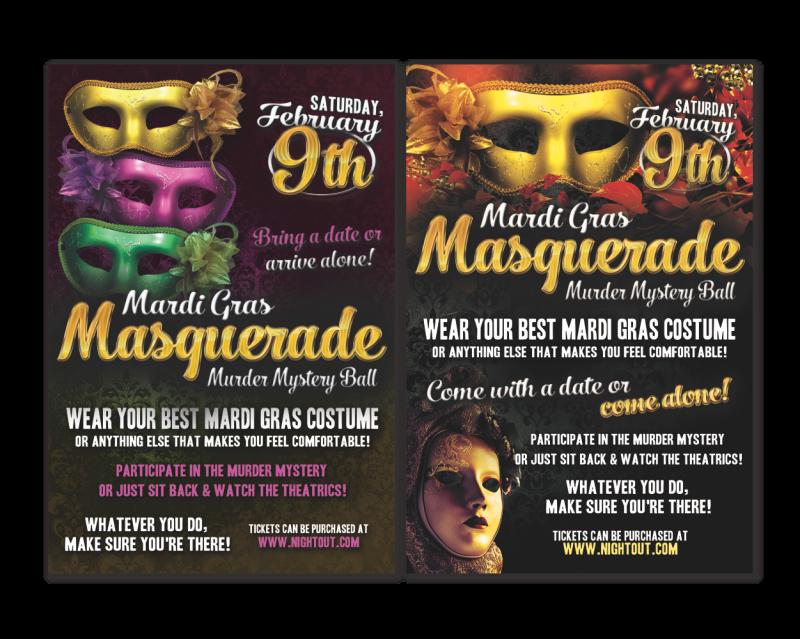 Masquerade Event Flyer