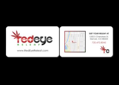 Redeye Releaf Business Card
