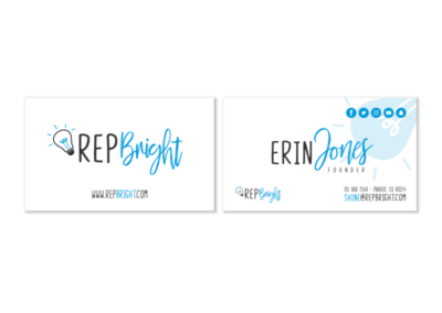 RepBright Business Card